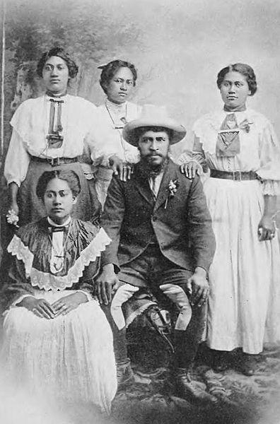 Полигиния:«Руа Кенана и четыре его жены» Дж. Мактебуарием