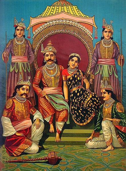 Полиандрия: Драупади и ее пять мужей