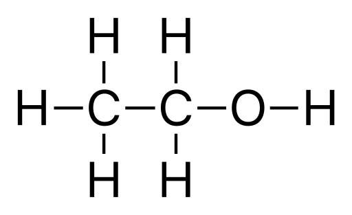 Химическая структура этанола