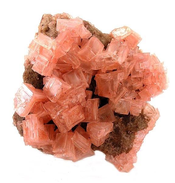 Галит розового цвета