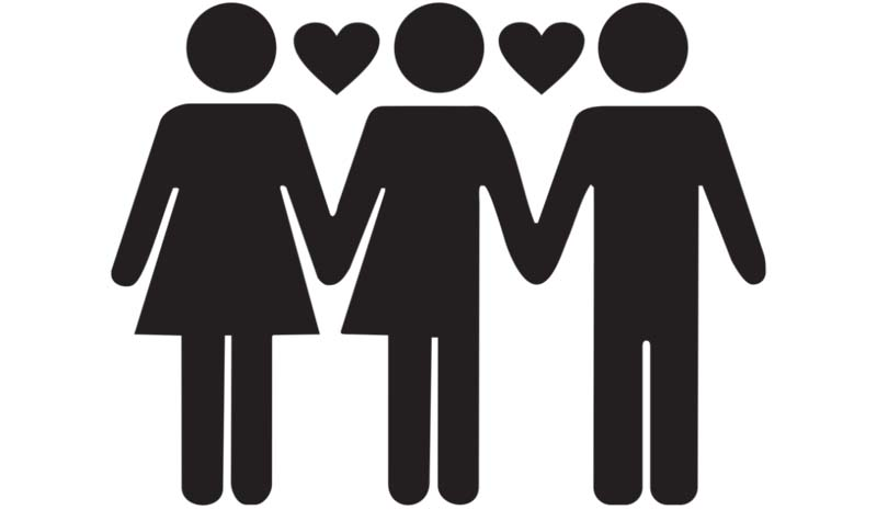 Разница между полиаморией и многоженством