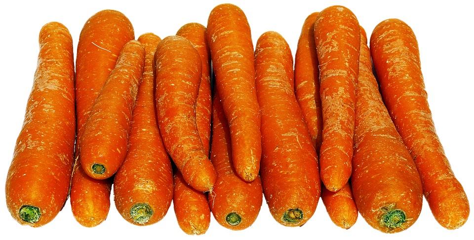 Оранжевый цвет в моркови
