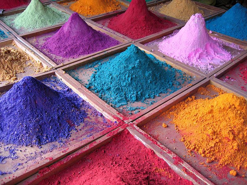 Пигментные краски