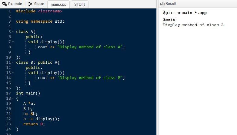 Программа на C ++