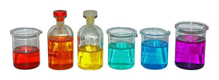 Цветные соединения переходных металлов