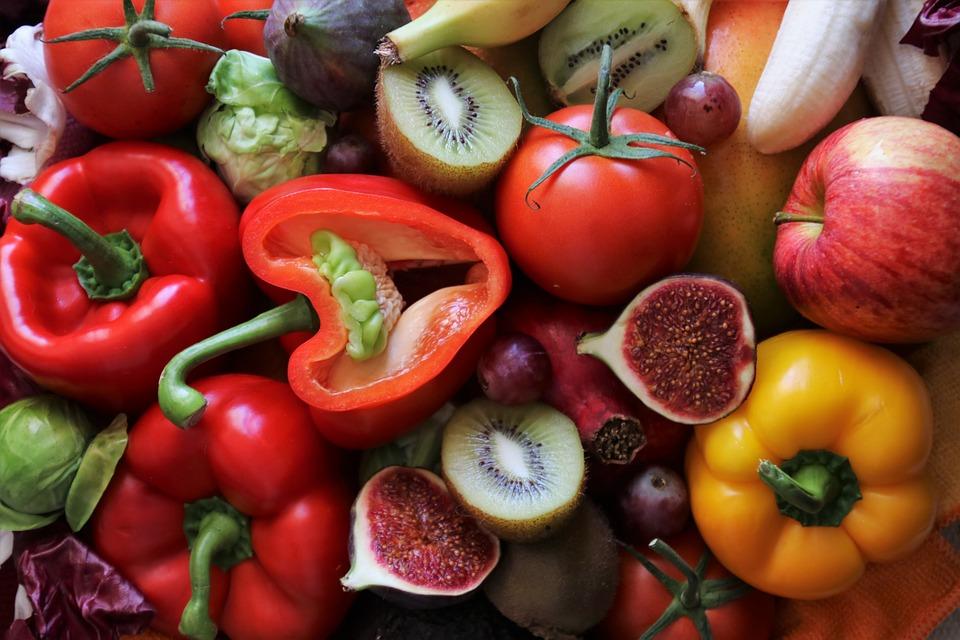 Фрукты и овощи, содержащие витамины