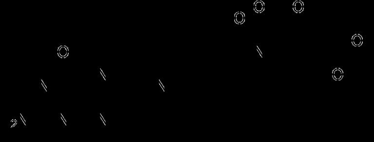 Химическая структура метилфолата