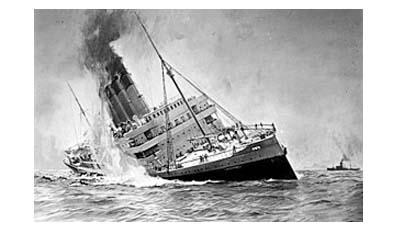 7 самых смертоносных кораблекрушений в мире