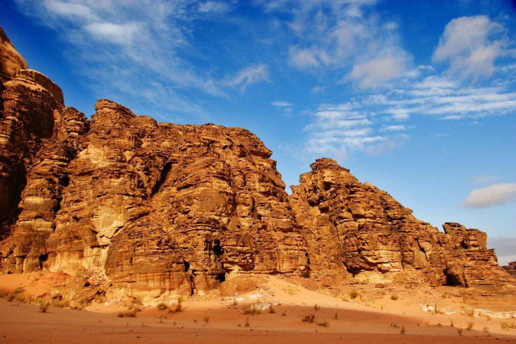 Аравийская пустыня Вади Рам