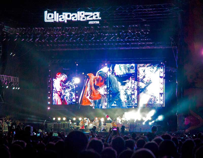 Фестиваль Lollapalooza