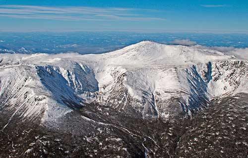 Гора Вашингтон, в Белых горах, Нью-Гемпшир