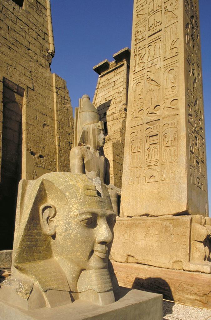 Храм Луксора, Фивы, Египет