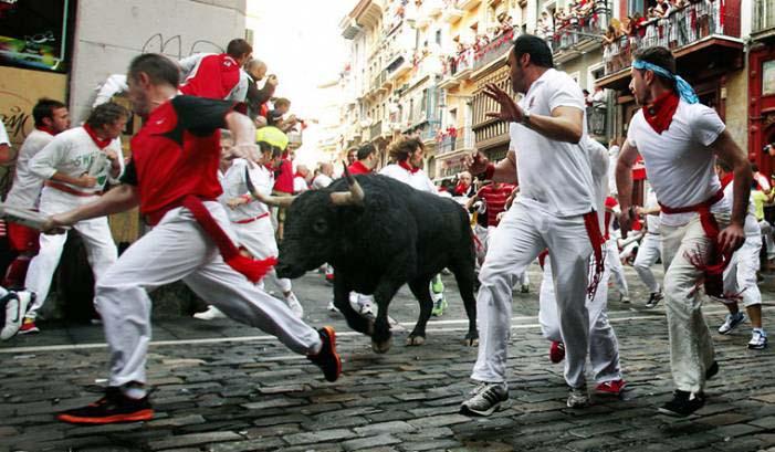 Испания бег быков