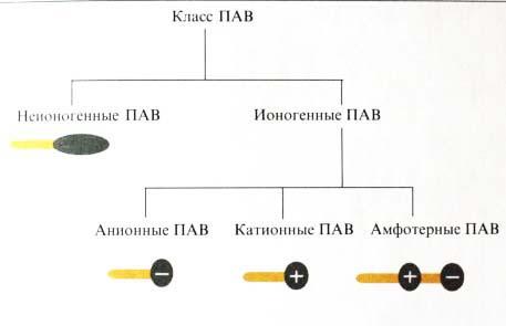 Классификация ПАВ