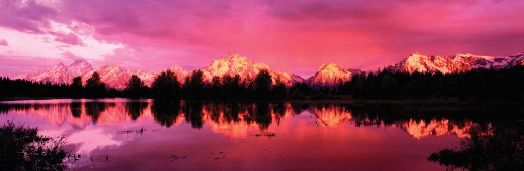 Национальный парк Гранд-Титон, хребет Тетон