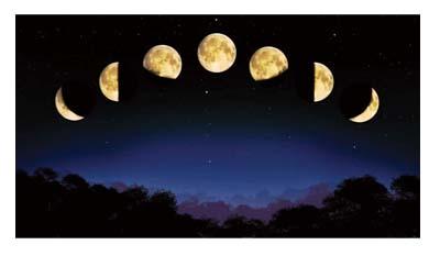 Откуда взялась луна