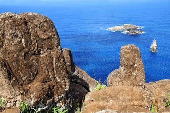 Петроглифы на острове Пасхи