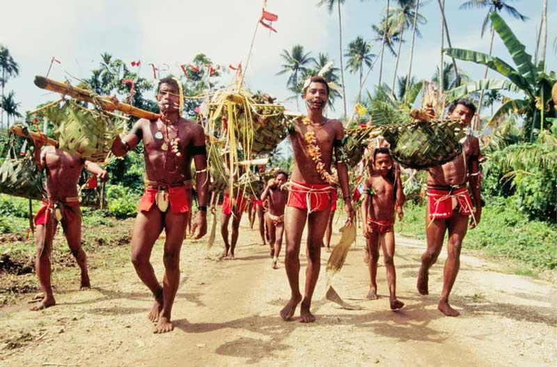 Праздник Нового ямса (праздник урожая) в Папуа-Новой Гвинее