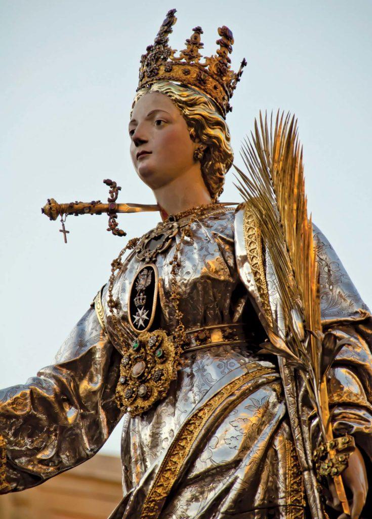 Праздник Святой Люсии, Сиракузы, Италия