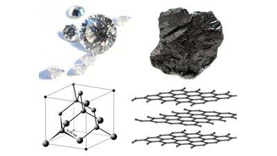 Разница между углеродом и алмазом