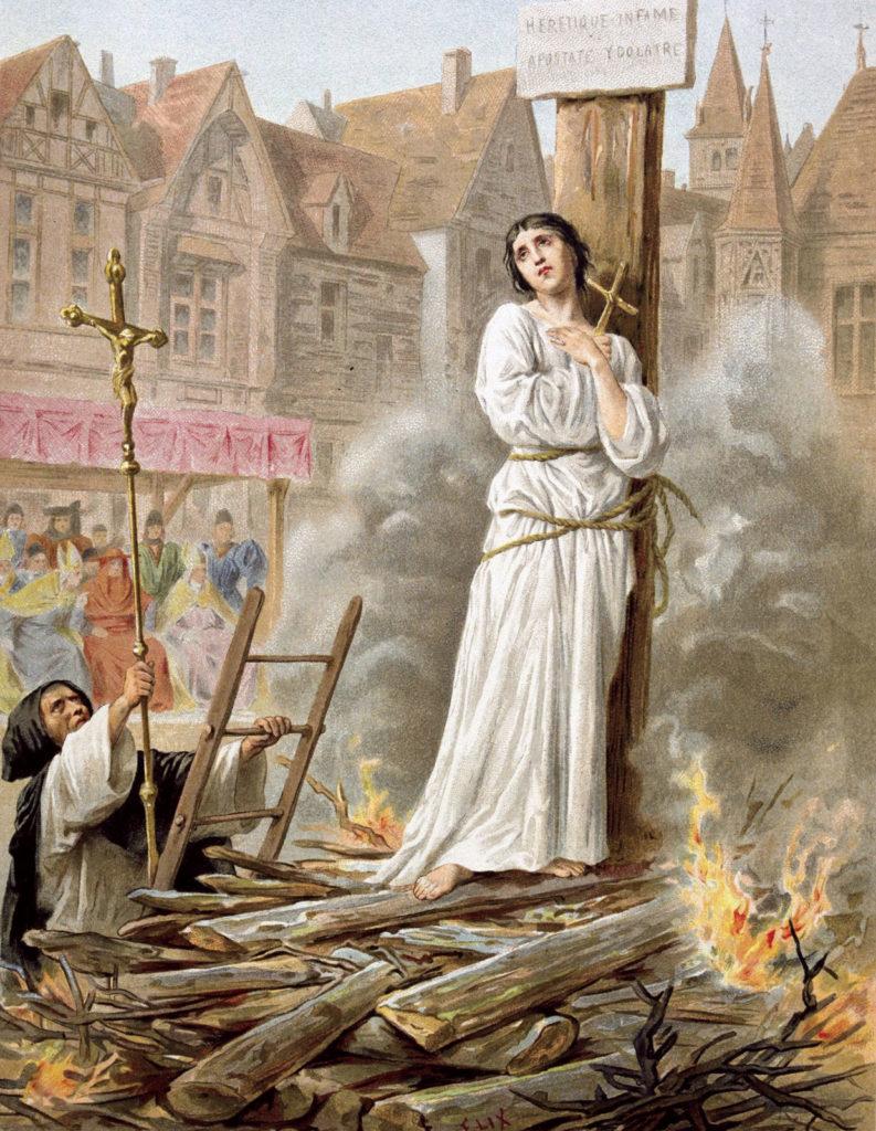 Смерть св. Жанны д'Арк