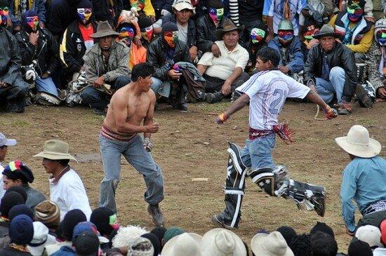 Takanakuy - бойцовский фестиваль в Перу