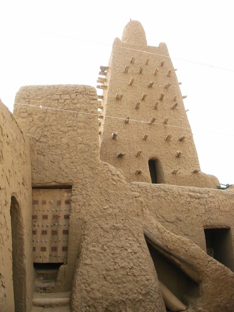 Тимбукту, Мали - мечеть Джингеребер