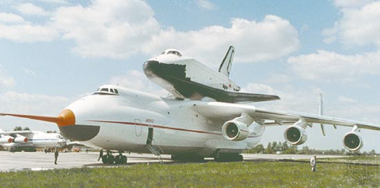 Транспортный самолёт Ан-225 Мрия Антонов