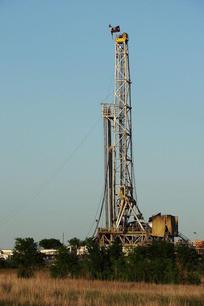 Установка для бурения природного газа