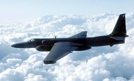 ВВС США Lockheed U-2 Dragon Lady в полете, 2003
