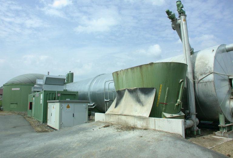 Завод по производству биогаза