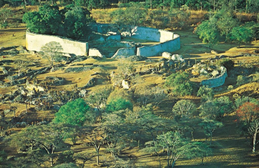 Зимбабве - руины