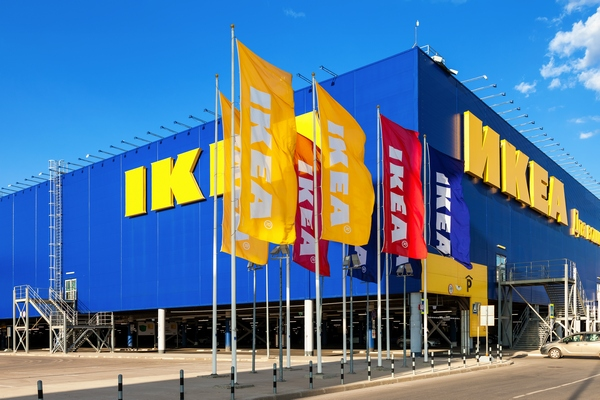 Икея - пример сетевого магазина