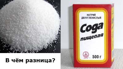 Разница между карбонатом натрия и гидрокарбонатом натрия