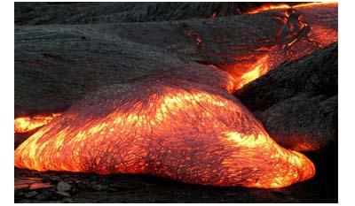Разница между лавой и магмой
