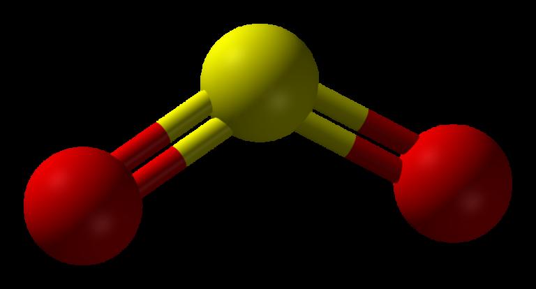 Структура диоксида серы
