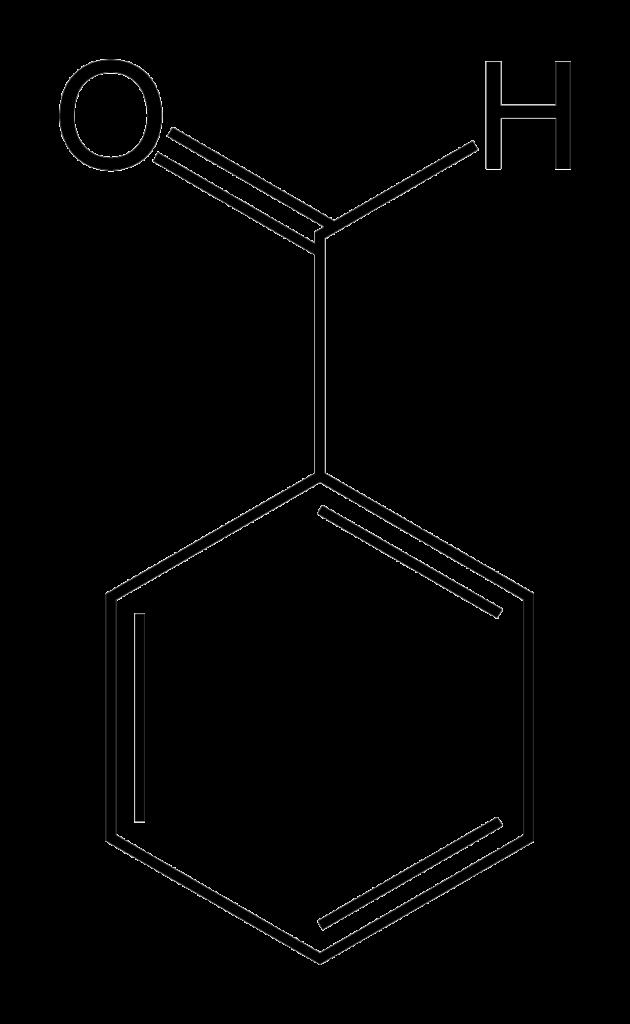 Химическая структура Бензальдегида