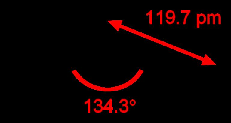 Химическая структура Диоксида азота