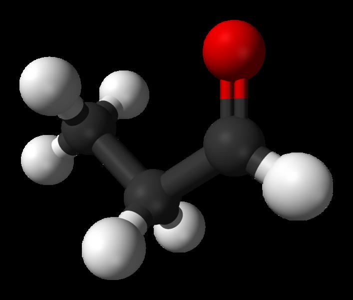 Химическая структура Пропаналя
