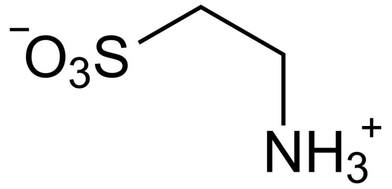 Химическая структура Таурина