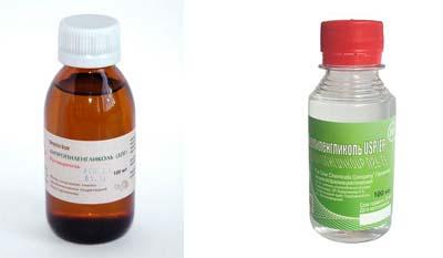 Разница между Дипропиленгликолем и Пропиленгликолем