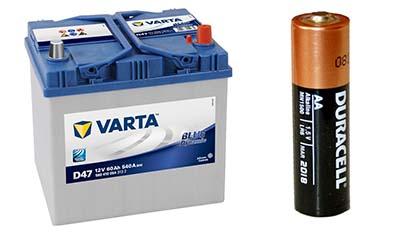 Разница между Свинцово-кислотной батареей и Щелочной батареей