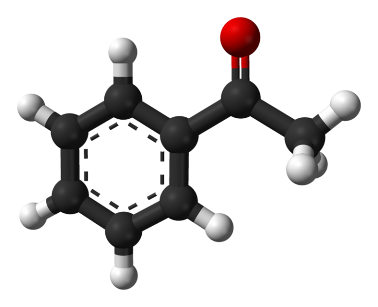 Структура Ацетофенона