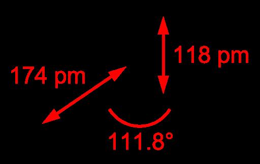 Химическая структура Фосгена