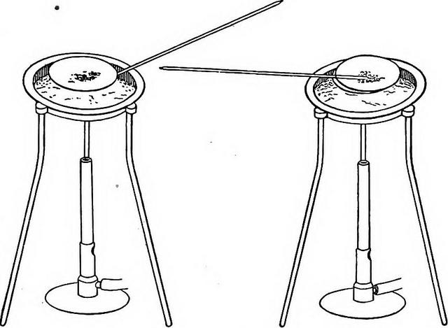 Испарение летучих соединений с целью выделения осадка
