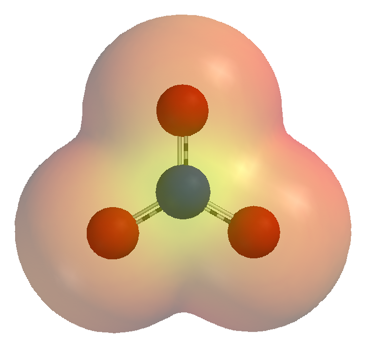 Структура Многоатомного иона