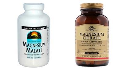 Разница между Малатом магния и Цитратом магния