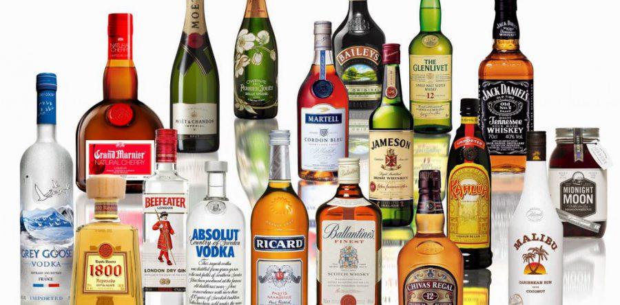 Алкогольные напитки, содержащие Этанол