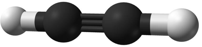 Химическая структура Ацетилена