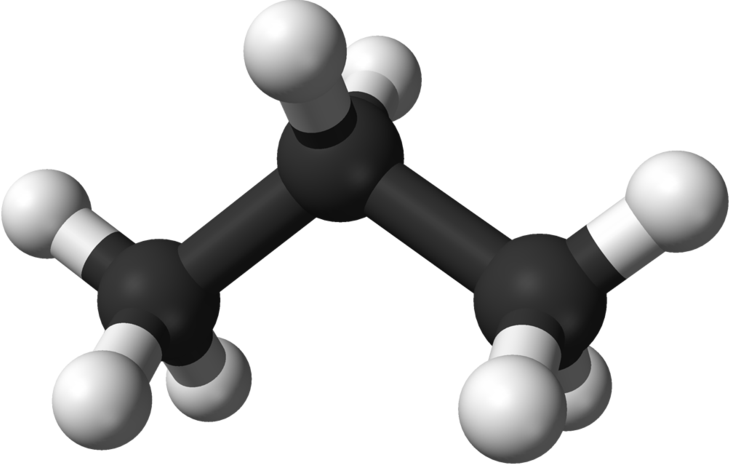 Химическая структура Пропана